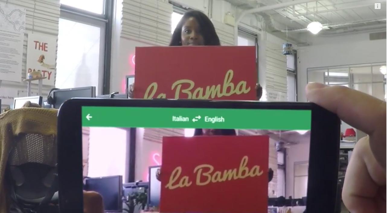 Video Google Translate VS La Bamba